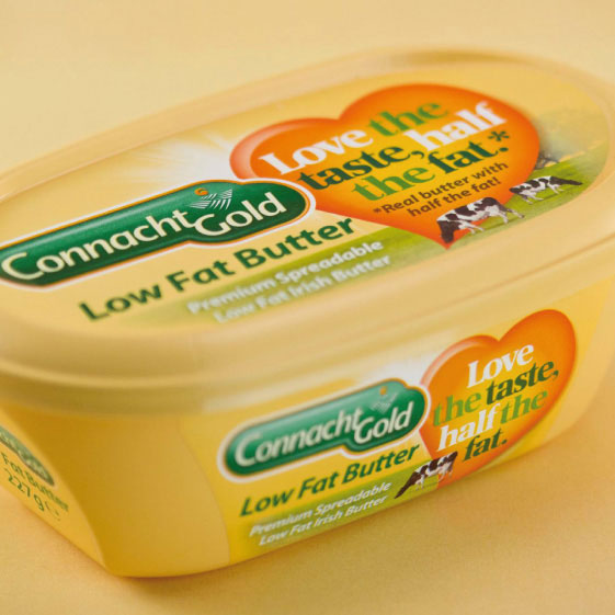 Connacht Gold Low Fat Butter